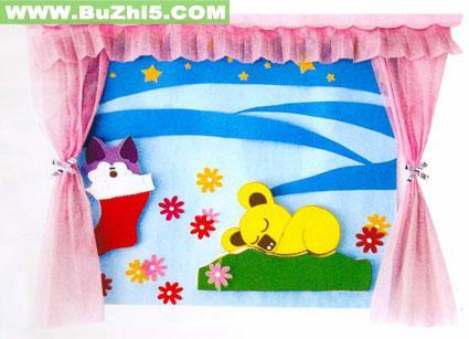 幼儿园睡眠室墙面布置图片大全(第2页)