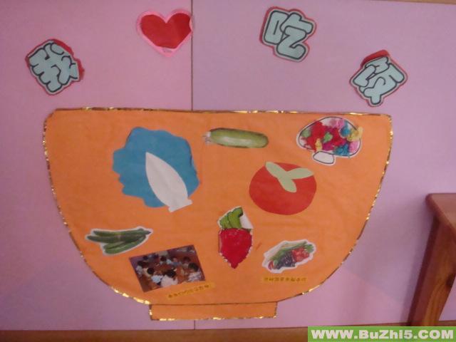 幼儿园手工制作墙面简笔画