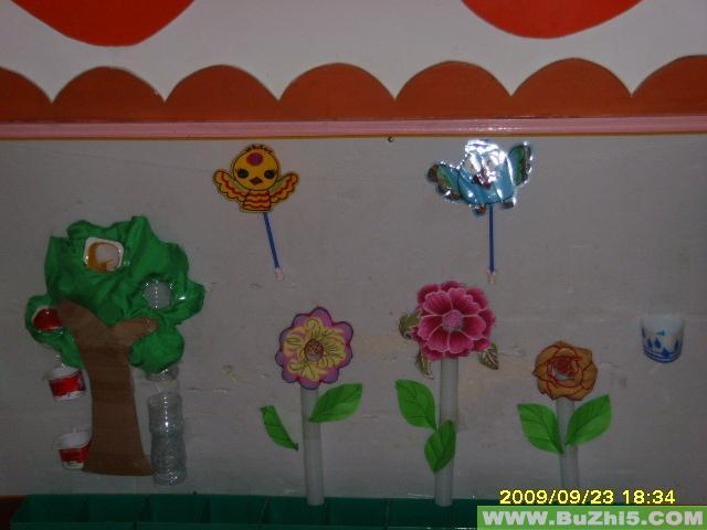 小动物6小班墙面图片