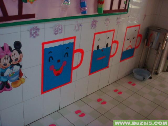 大班幼儿园喝水步骤图