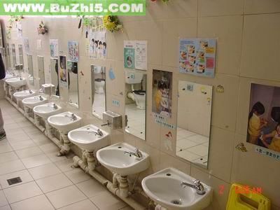 幼儿园盥洗室布置图片大全(第2页)