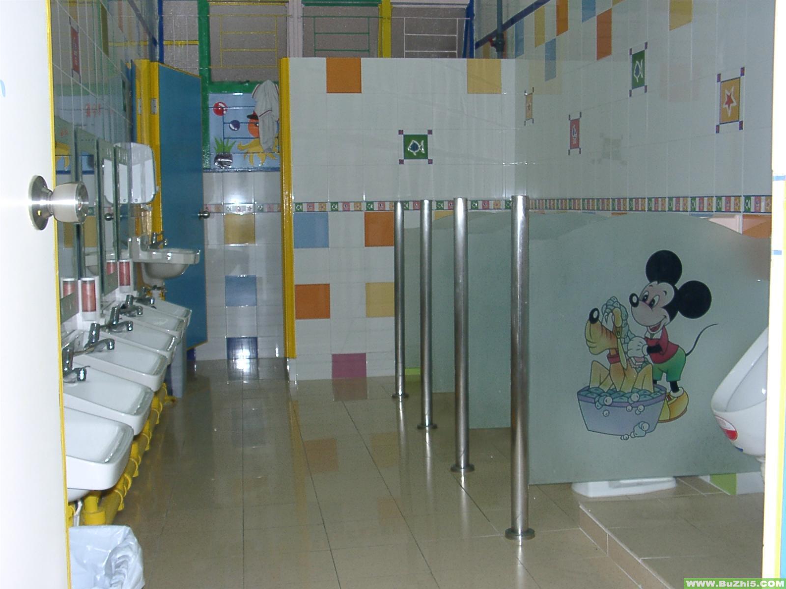 幼儿园卫生间布置图片大全