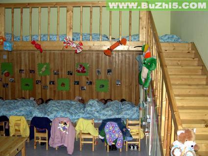 幼儿园睡眠室布置图片大全