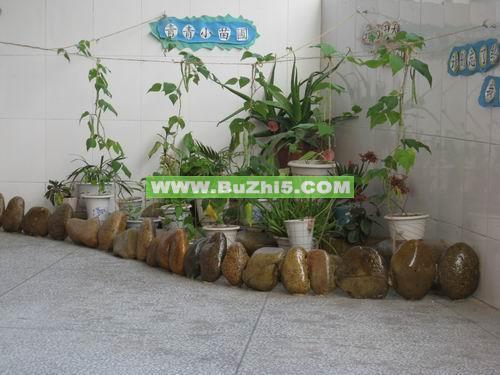 幼儿园自然角布置  石头艺术自然角布置图片下载说明:在图片上点击