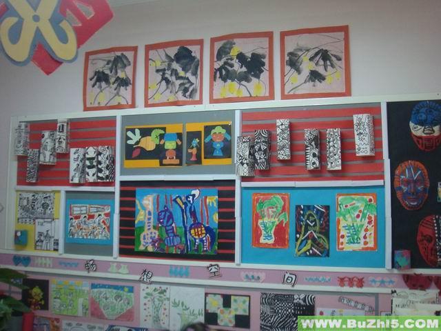 小班美工区布置 下一个布置: 幼儿园美工区材料图片 热图片