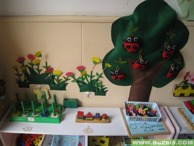 幼儿园益智区布置图片