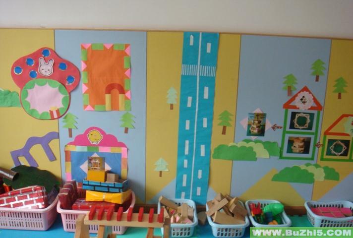 幼儿园活动区布置  热门幼儿园环境布置图片