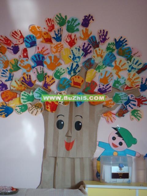 吊飾幼兒園教室布置吊飾幼兒園教室  幼兒園托班秋天主題墻設計圖片