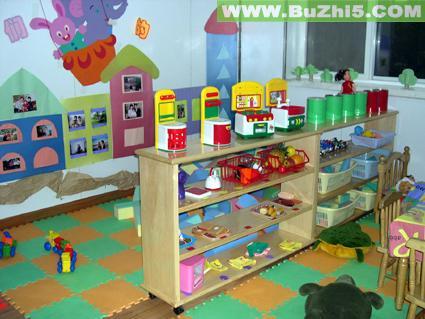 玩具放置区中班活动区布置