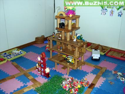 幼儿园建构区布置图片大全