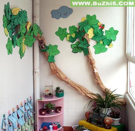 幼儿园大班自然角布置:水果娃娃