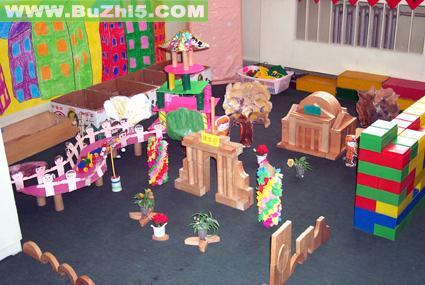 幼儿园建构区布置图片大全(第16页)