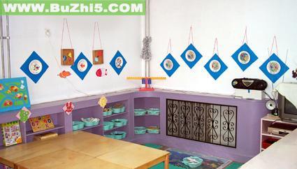 幼儿园益智区墙饰设计图片展示
