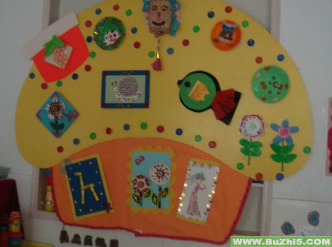 幼儿园墙面美术作品布置(第6页)