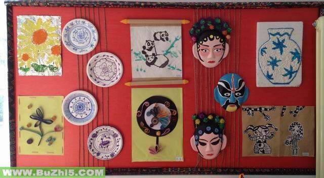 幼儿园墙面美术作品布置(第9页)
