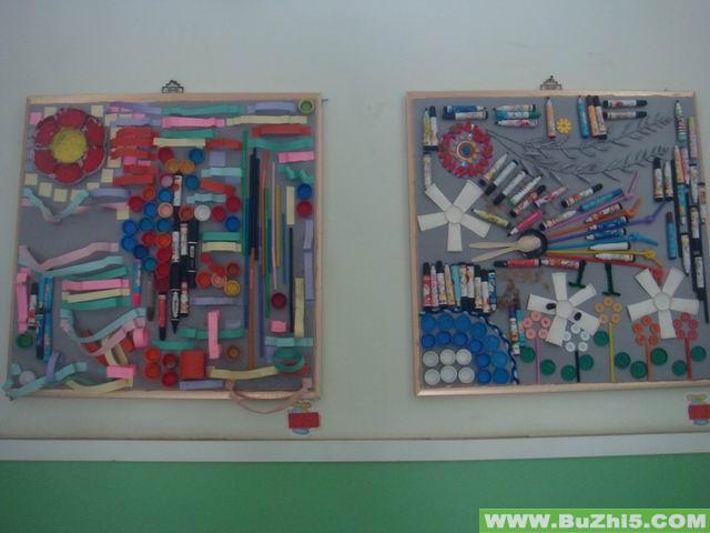 幼儿园墙面美术作品布置(第8页)