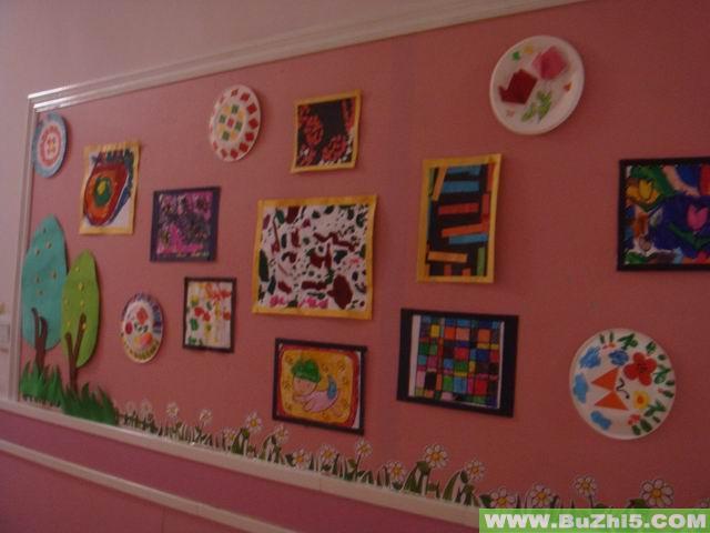 幼儿园墙面美术作品布置 第2页