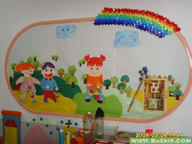 幼儿园大班墙面布置图片(第2页)