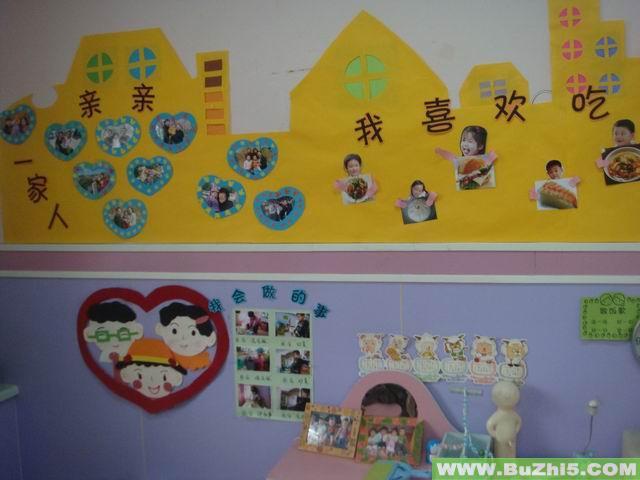 幼儿园墙面布置  热门幼儿园环境布置图片 最新布置图片