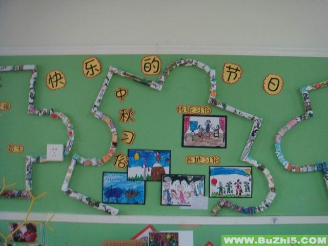 中秋习俗中秋节布置图片