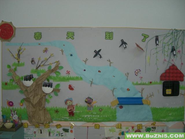 幼儿园春天到了墙面设计图片 第6页