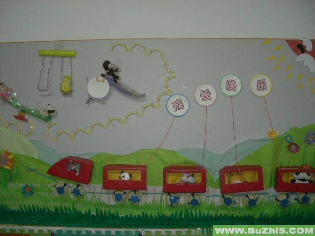 幼儿园中班美工区布置:巧手工作室