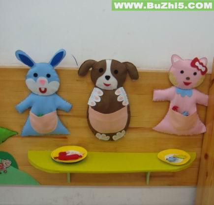 幼儿园墙面布置  喂小动物墙面设计图片下载说明:在图片上点击鼠标