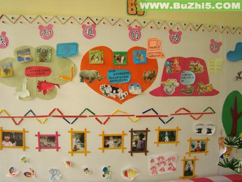 我知道的动物墙面设计图片