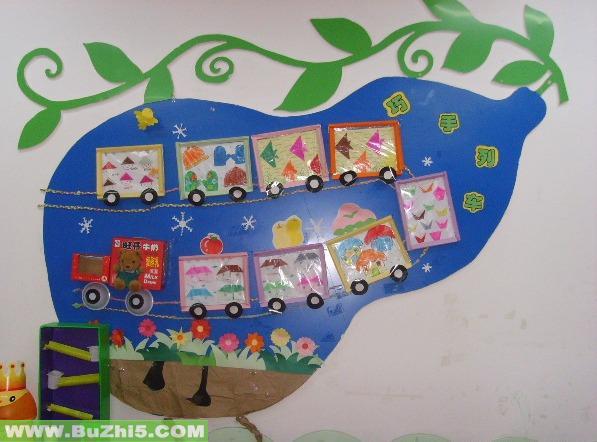 包括幼儿园教室布置,墙面布置,主题布置,走廊吊饰等.