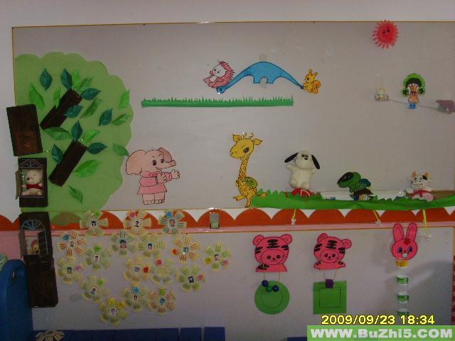 幼儿园墙面好朋友主题布置