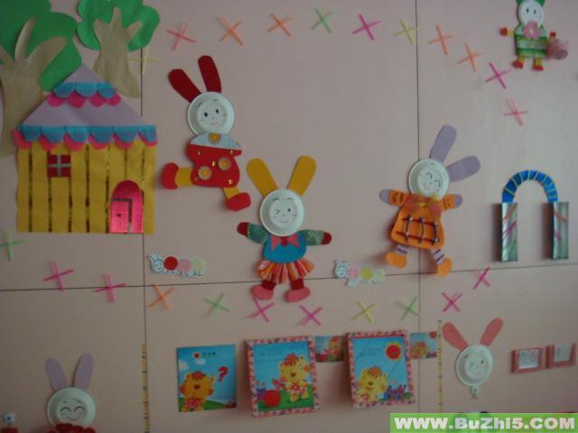 小兔子的家墙面设计图片