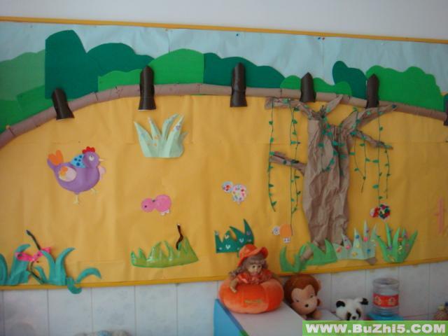 小鸡; 鸡妈妈图片; 幼儿园墙面布置图片