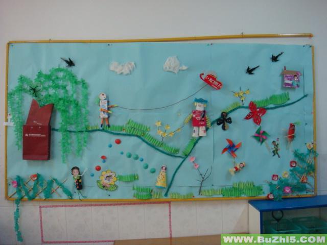 幼儿园春天到了墙面设计图片(第3页)