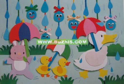幼儿园墙面布置图片:这是我_幼儿园墙面布置图片