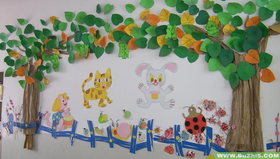 幼儿园墙面布置