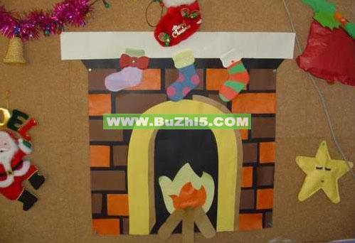 幼儿园圣诞节墙面布置图片(第5页)