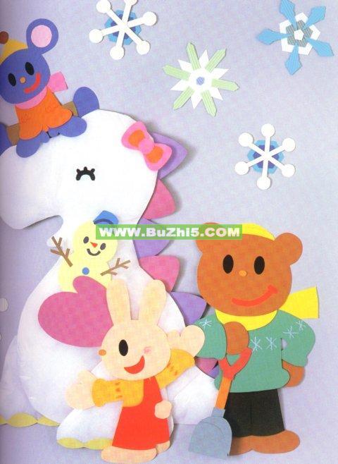 幼儿园墙面布置  下雪了冬天墙面布置(第3页)