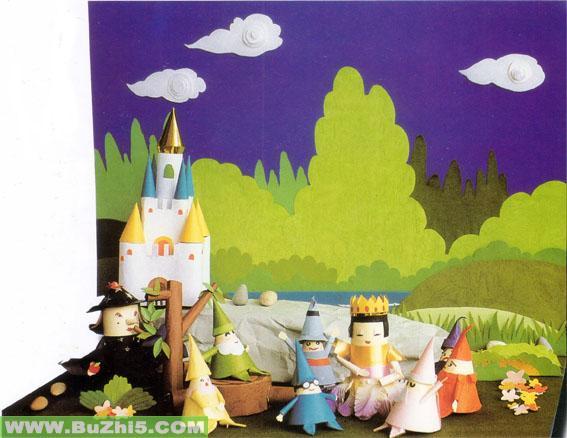 白雪公主墙面设计图片