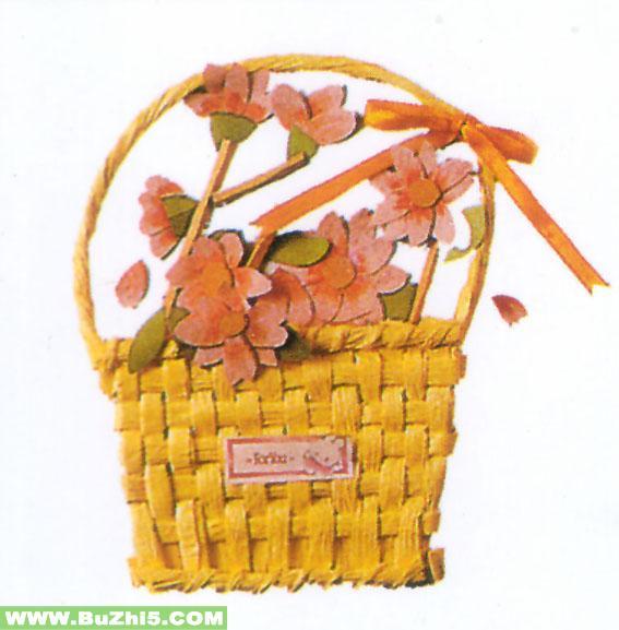 花卉参考纹样中班墙面布置
