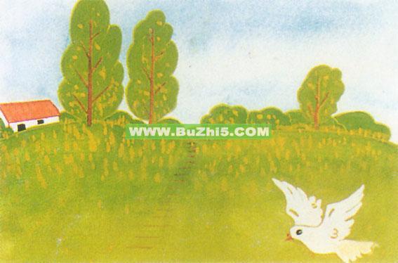 幼儿园墙饰布置  春天小鸽子墙面装饰画下载说明:在图片上点击鼠标