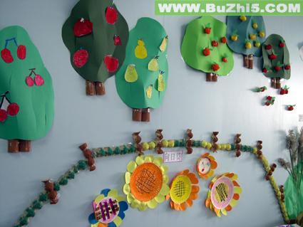 幼儿园大班墙面布置图片(第25页)