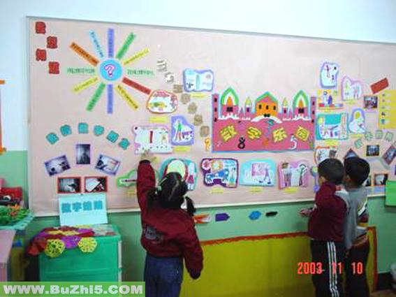 幼儿园区角布置
