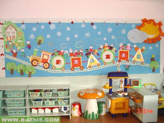 幼儿园中班墙面布置_幼儿园大班墙面布置图片(第9页)