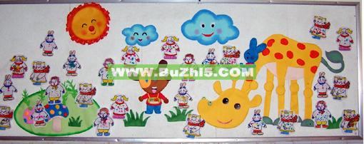 幼儿园墙面小动物布置图片(第4页)