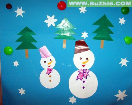 幼儿园冬天墙面布置图片(第7页)