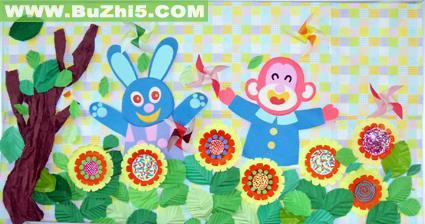 幼儿园墙面小动物布置图片(第5页)
