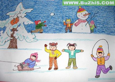 幼儿园冬天墙面布置图片(第2页)