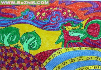 幼儿园墙面绘画作品布置 第4页