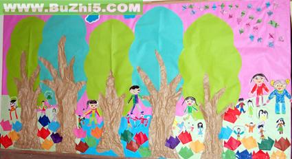 幼儿园中班墙面布置图片第4页下载说明:在图片