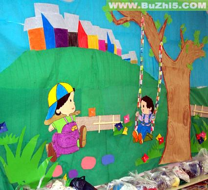 幼儿园小班墙面布置图片(第2页)图片